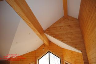 Натяжные потолки Clipso- идеально подходят для деревянных домов